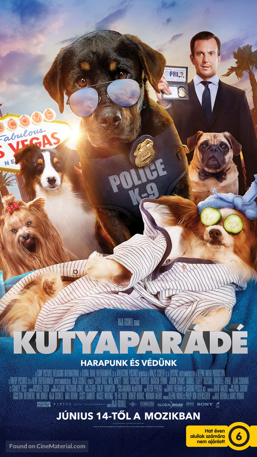 Show Dogs - Hungarian Movie Poster