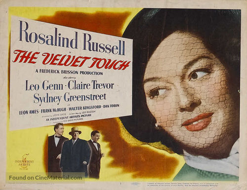 The Velvet Touch - Movie Poster