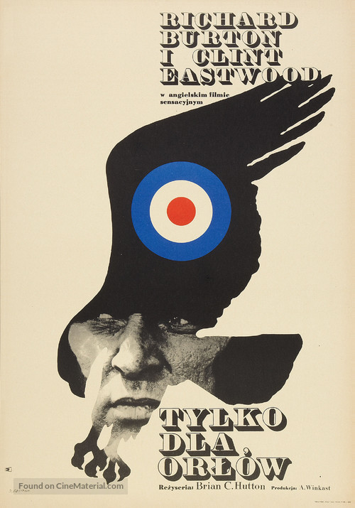 Where Eagles Dare - Polish Theatrical poster