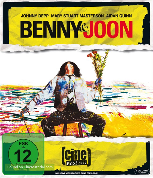 Benny And Joon - German Blu-Ray cover