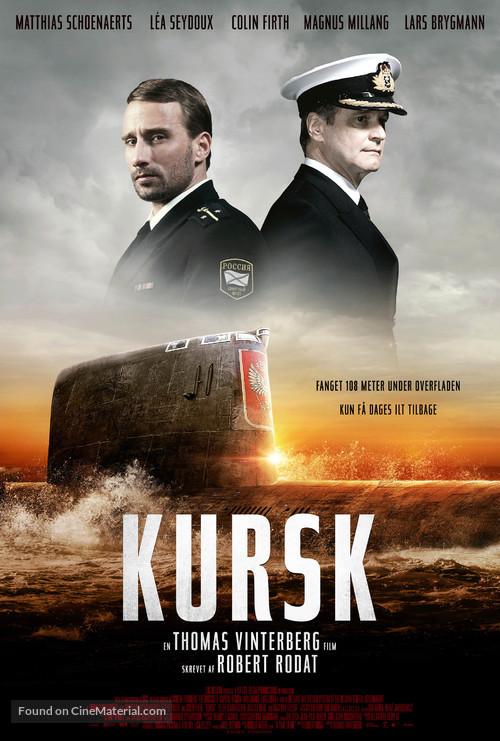 Kursk - Danish Movie Poster
