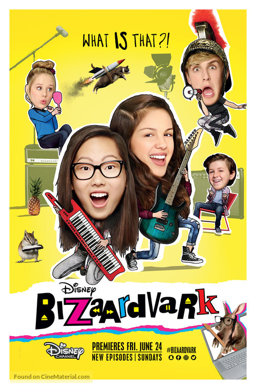 """Bizaardvark"" - Movie Poster"