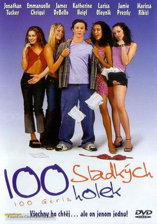 100 Girls - Czech DVD movie cover