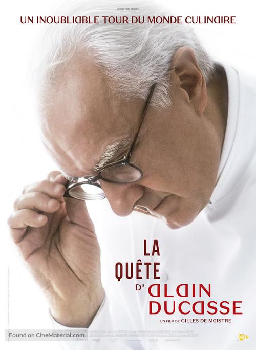 La quête d'Alain Ducasse - French Movie Poster