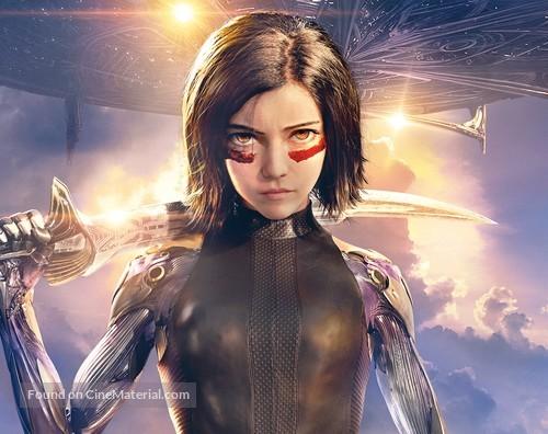 Alita: Battle Angel - Key art