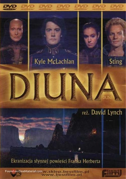 Dune - Polish DVD movie cover