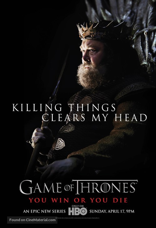 """""""Game of Thrones"""" - Character movie poster"""