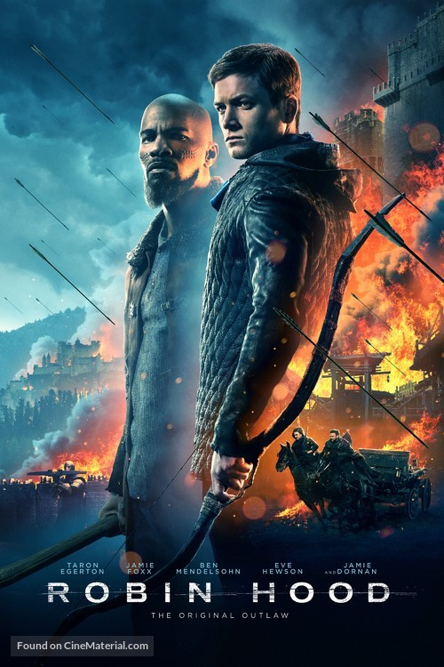 Robin Hood - Danish Movie Cover