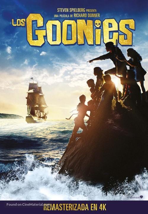 The Goonies - Spanish Movie Poster