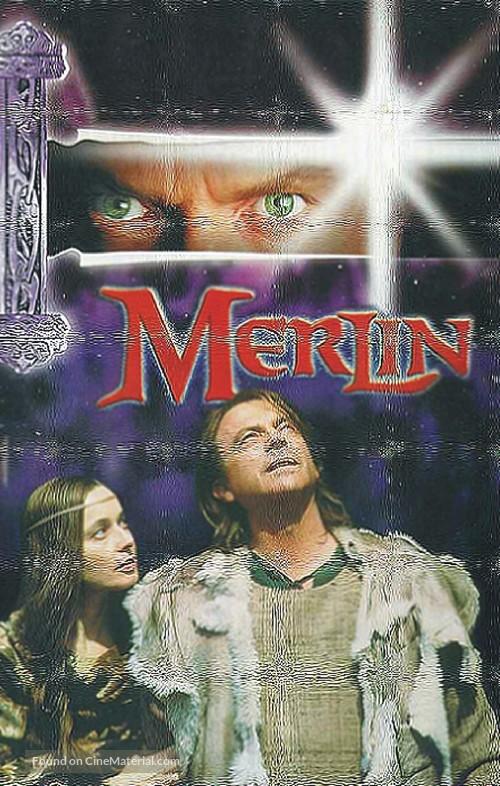Merlin - German VHS movie cover