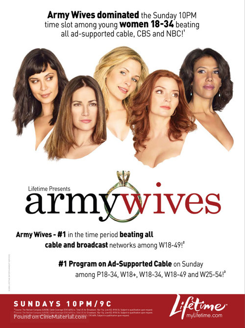"""Army Wives"" - Movie Poster"