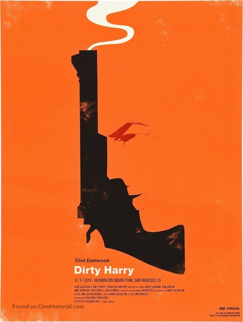 Dirty Harry - Homage poster