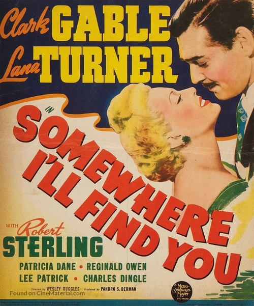 Somewhere I'll Find You - Movie Poster