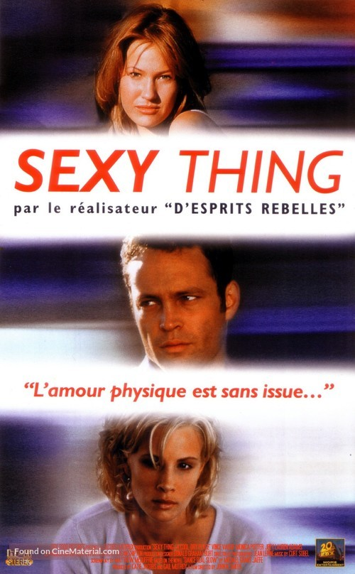 A Cool, Dry Place - French VHS movie cover