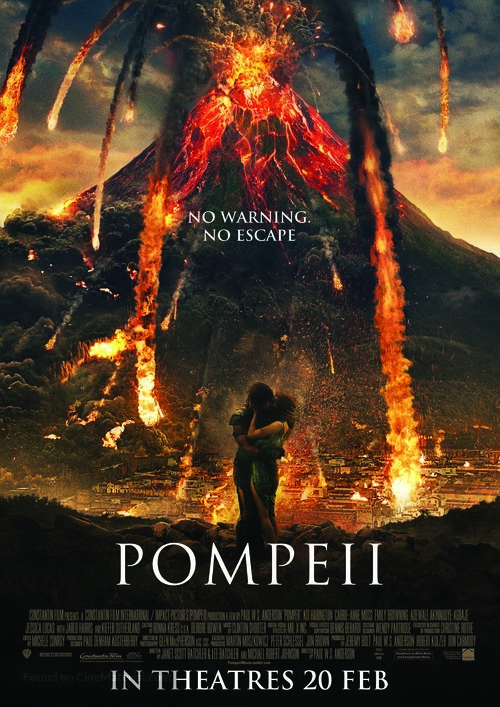 Pompeii - Singaporean Movie Poster