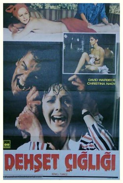 7, Hyden Park: la casa maledetta - Turkish Movie Poster