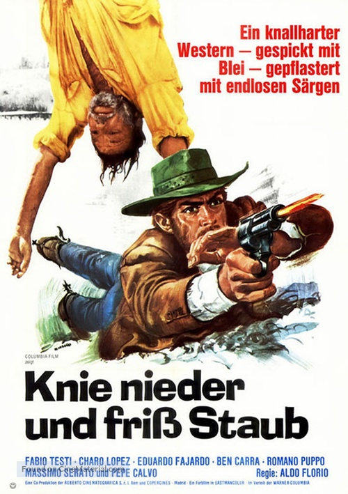 Anda muchacho, spara! - German Movie Poster