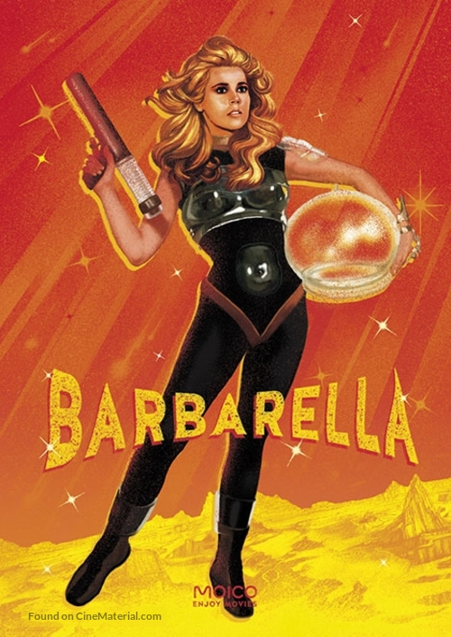 Barbarella - Polish Movie Poster