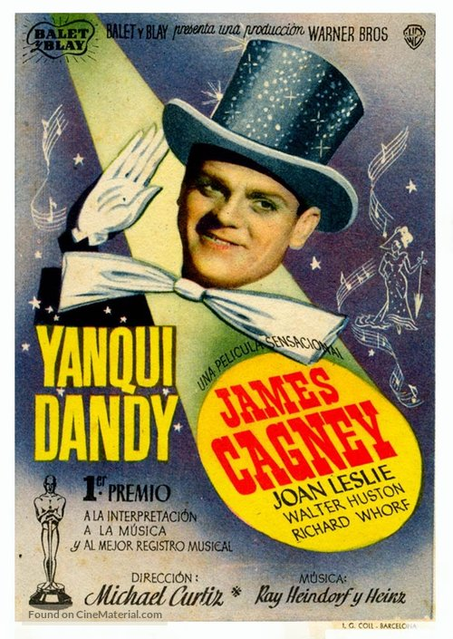 Yankee Doodle Dandy - Spanish Movie Poster