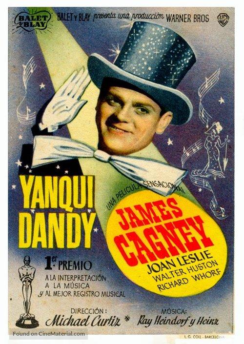 Yankee Doodle Dandy - Spanish Movie Poster