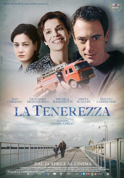 La tenerezza - Italian Movie Poster