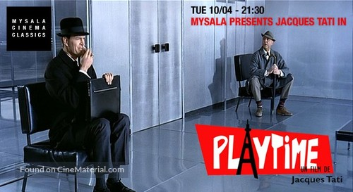 Play Time - British Movie Poster