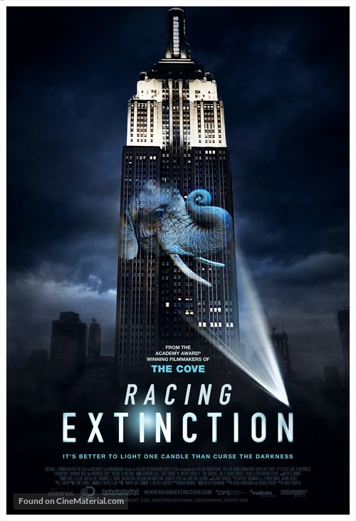 Racing Extinction - Movie Poster