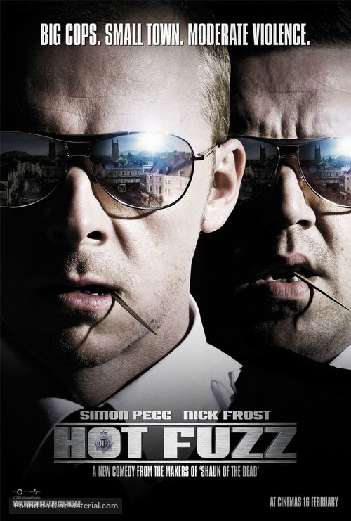 Hot Fuzz - Movie Poster