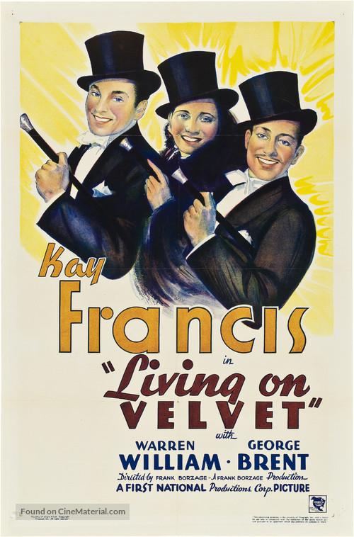 Living on Velvet - Movie Poster
