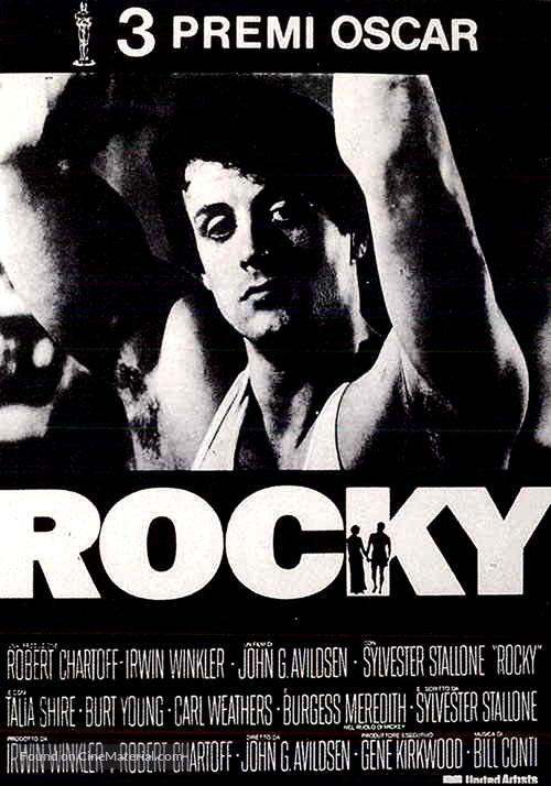 Rocky - Italian Movie Poster
