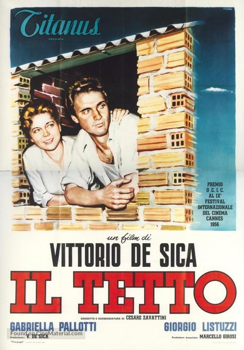 Il tetto - Italian Movie Poster
