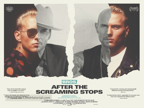 After The Screaming Stops - British Movie Poster