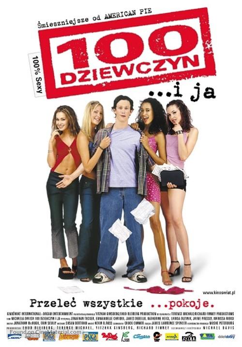100 Girls - Polish Movie Poster