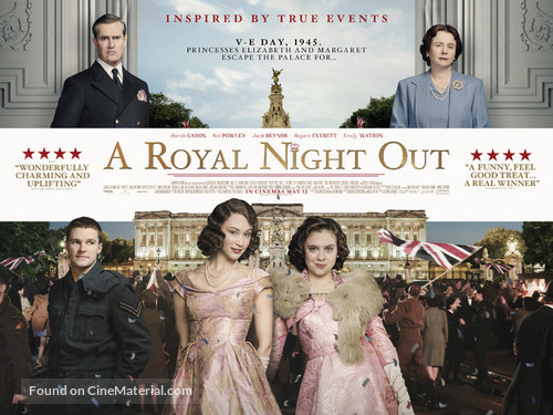 A Royal Night Out - British Movie Poster