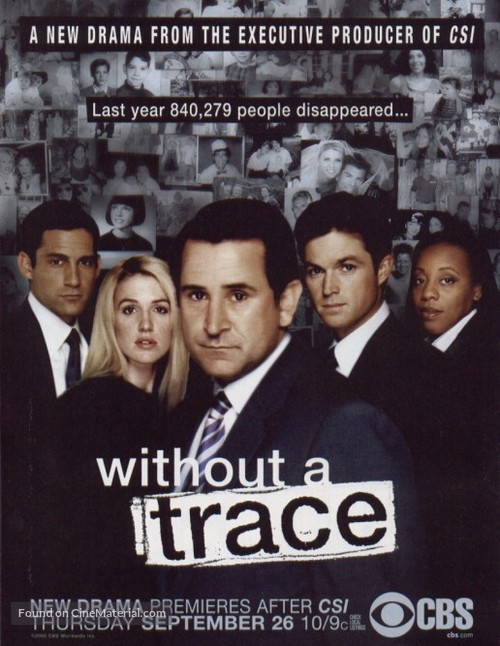 """""""Without a Trace"""" - Movie Poster"""