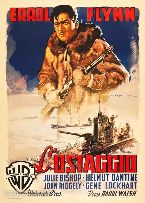 Northern Pursuit - Italian Movie Poster