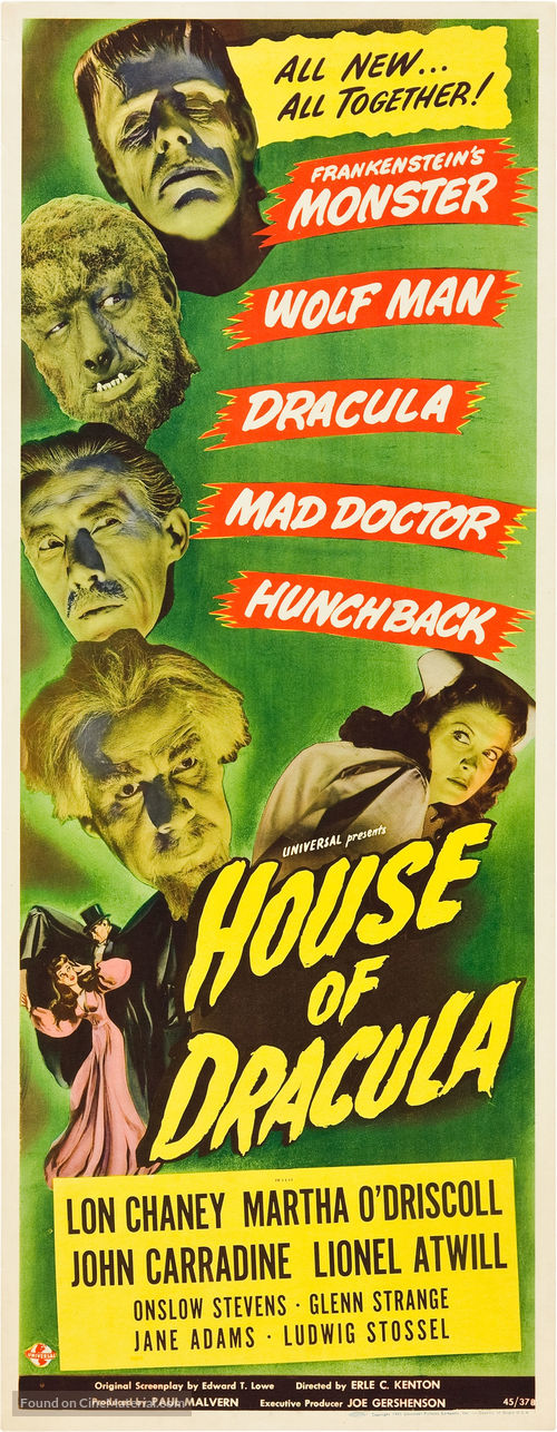 House of Dracula - Theatrical poster