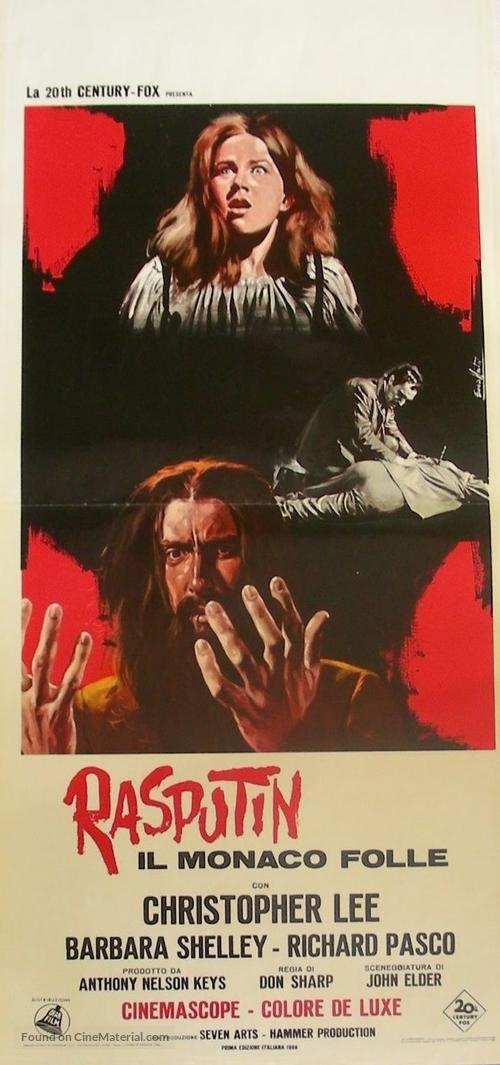 Rasputin: The Mad Monk - Italian Movie Poster
