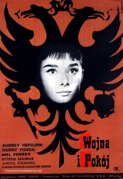 War and Peace - Polish Movie Poster