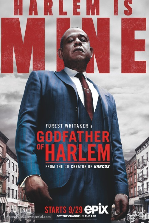 """""""The Godfather of Harlem"""" - Movie Poster"""