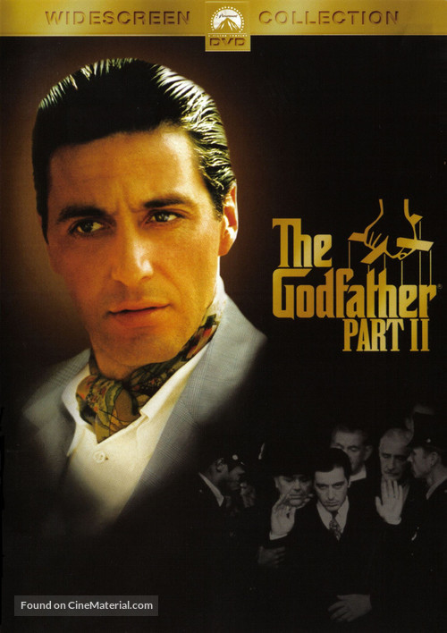 The Godfather: Part II - DVD cover