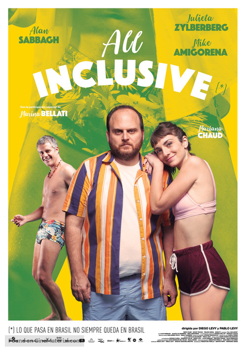 All Inclusive - Argentinian Theatrical movie poster