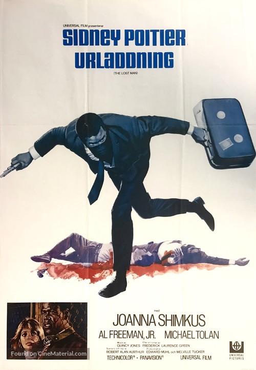 The Lost Man - Swedish Movie Poster