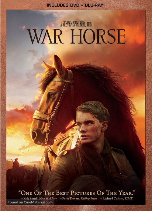 War Horse - Blu-Ray movie cover