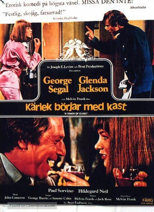 A Touch of Class - Swedish Movie Poster