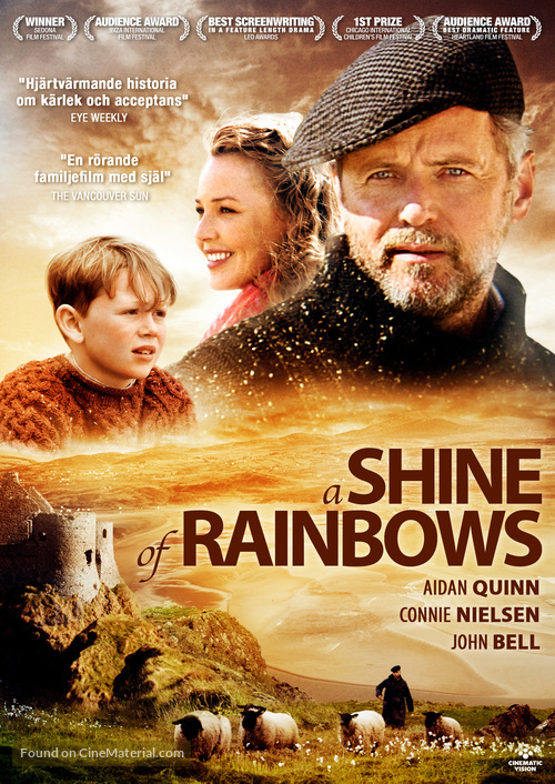 A Shine of Rainbows - Swedish DVD cover