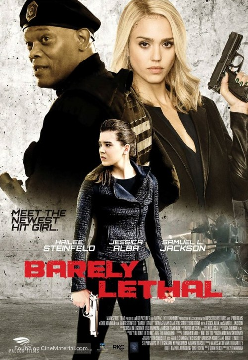 Barely Lethal - Lebanese Movie Poster