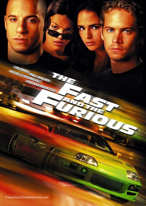 The Fast and the Furious - Movie Cover