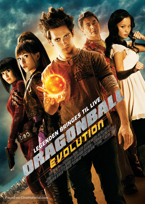 Dragonball Evolution - Theatrical poster