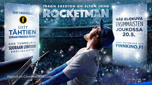 Rocketman - Finnish Movie Poster